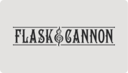 Flask & Cannon Venue logo